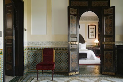La Mamounia hotel in Marrakech ITS PARIS MOROCCO TIME AGAIN
