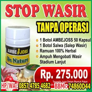 Obat Wasir Herbal Tanpa Operasi Sembuh
