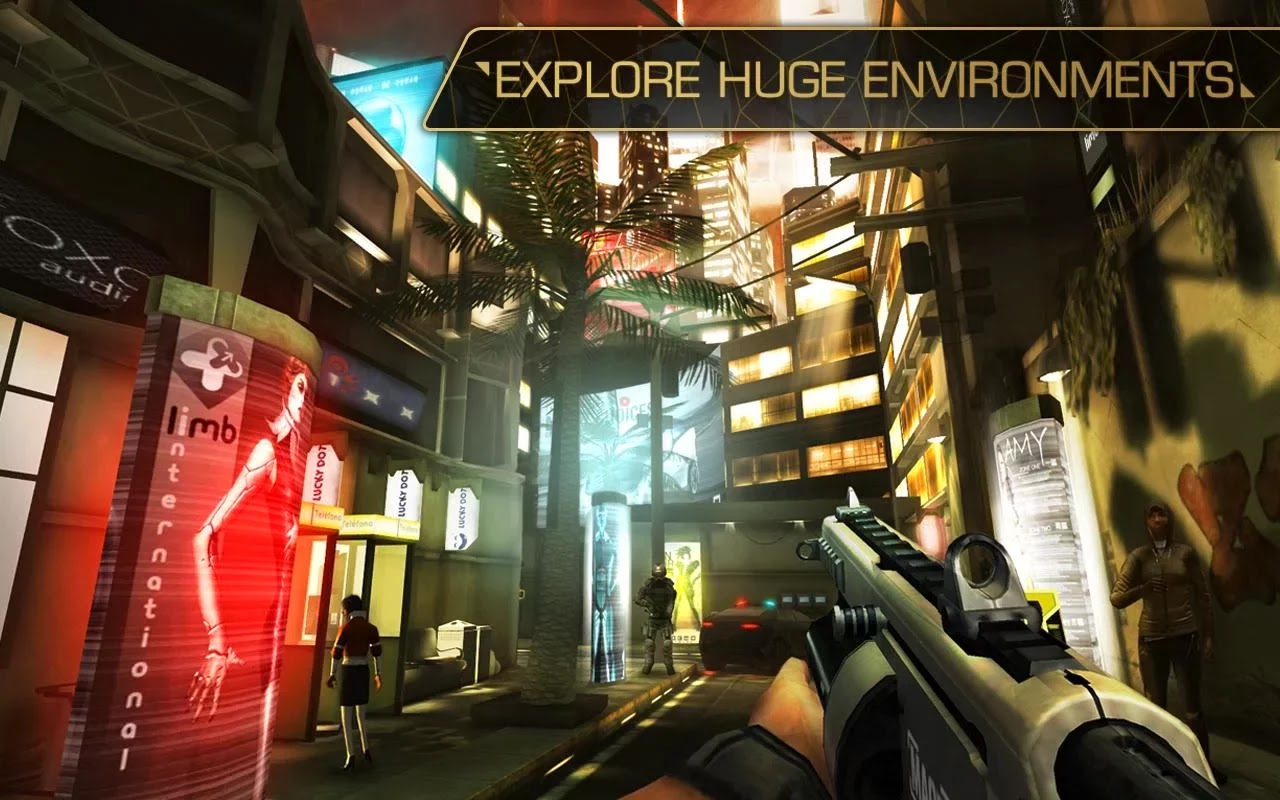 Deus Ex: The Fall MOD APK + DATA v0.0.19 Unlimited Loans Hack