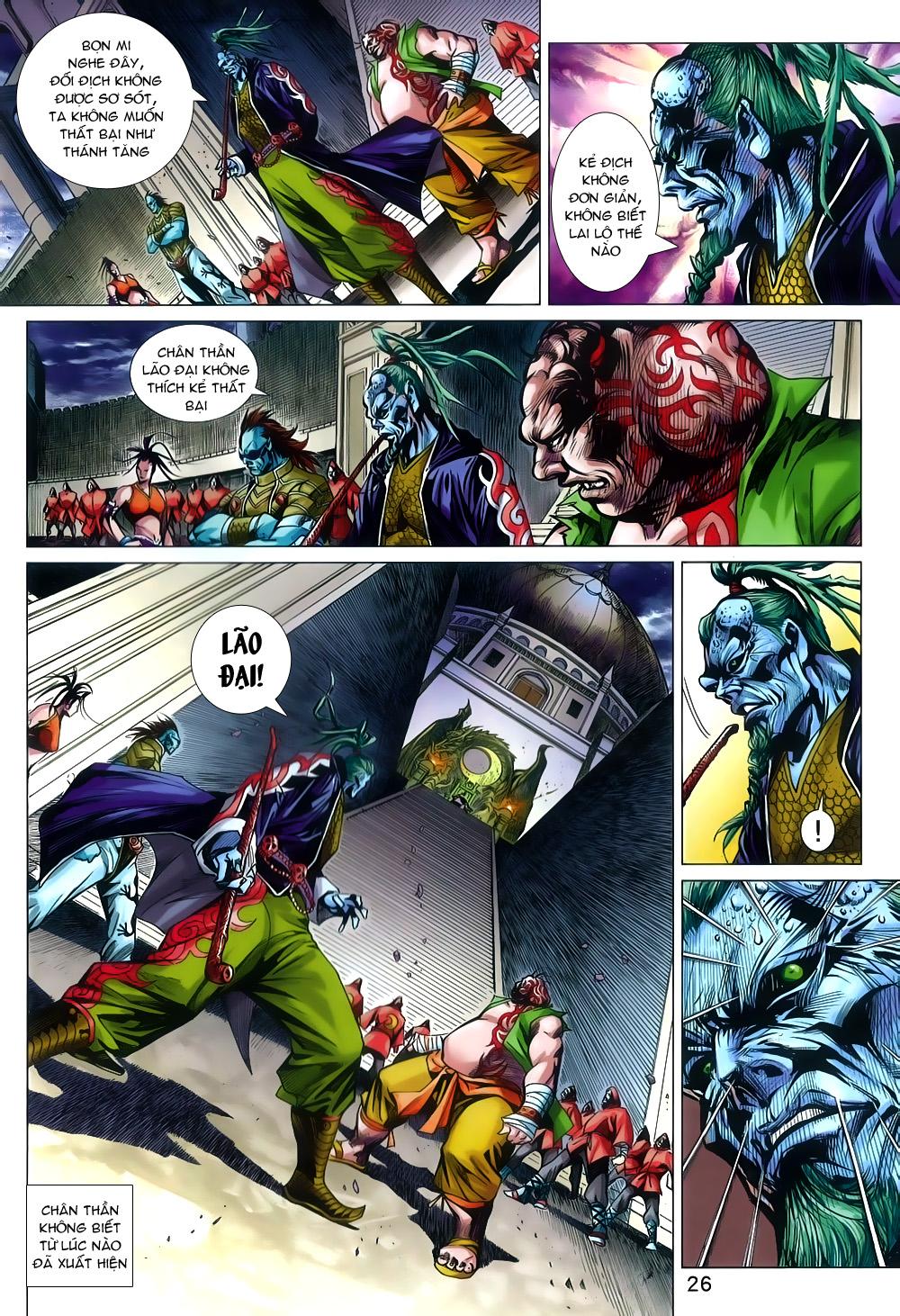 Tân Tác Long Hổ Môn chap 804 Trang 26 - Mangak.info