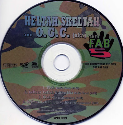 The Fab 5 – Blah / Leftah (Promo CDS) (1995) (320 kbps)
