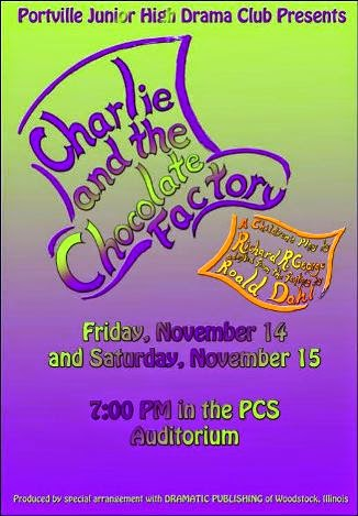 11-14/15 Charlie & the Chocolate Factory