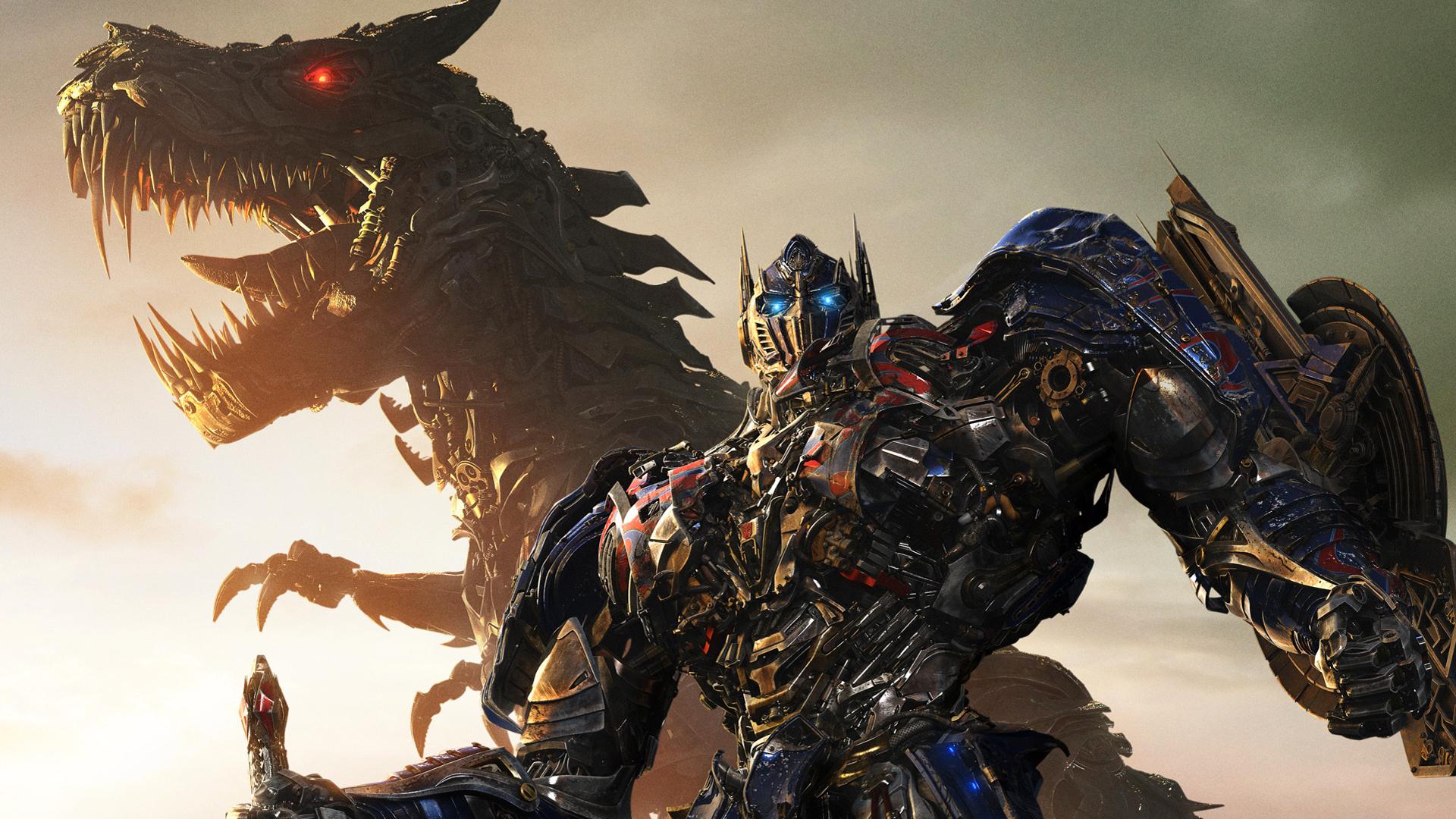 ... grimlock and autobot optimus prime transformers age of extinction