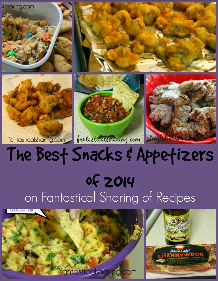 Just in time for New Year's Eve, stop by and find some new Snacks & Appetizers to test out via Fantastical Sharing #Countdownto2015 #appetizers #snack #recipes