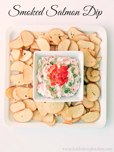 Smoked Salmon Dip from www.bobbiskozykitchen.com