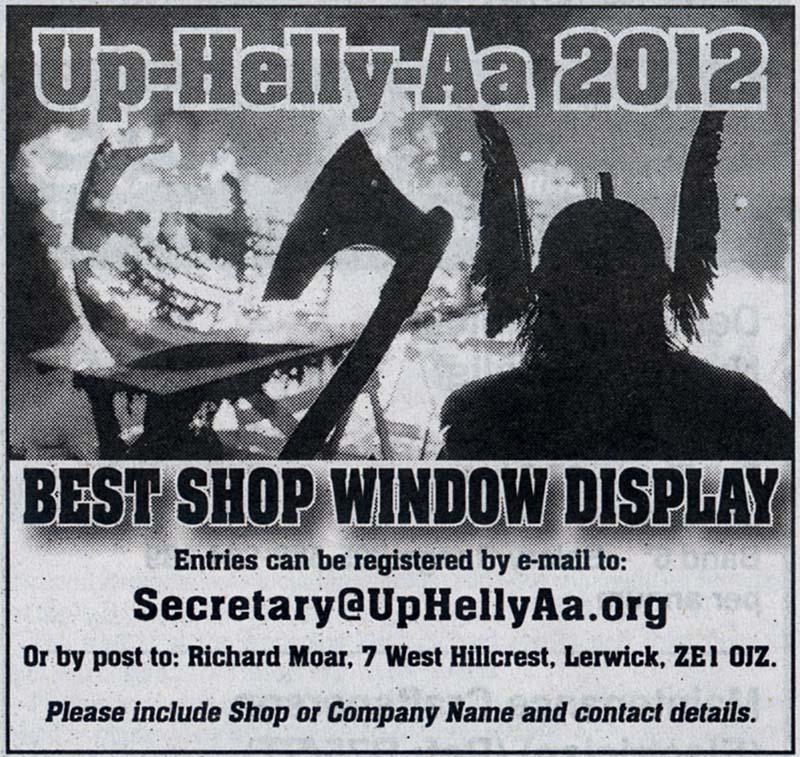 bressay up helly aa 2012