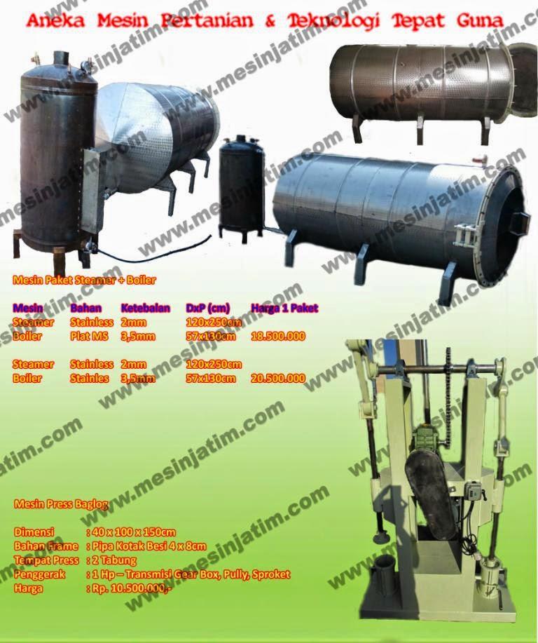 Steamer Baglog Jamur