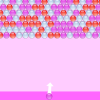 Pink Bubble Shooter Puzzle Game