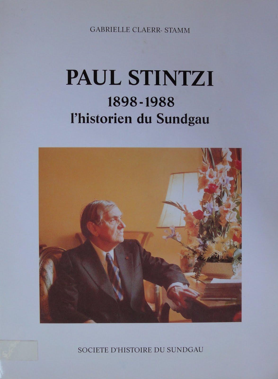 paul stintzi 1898 1988 historien du sundgau g n alogie et histoire locale en haute alsace. Black Bedroom Furniture Sets. Home Design Ideas