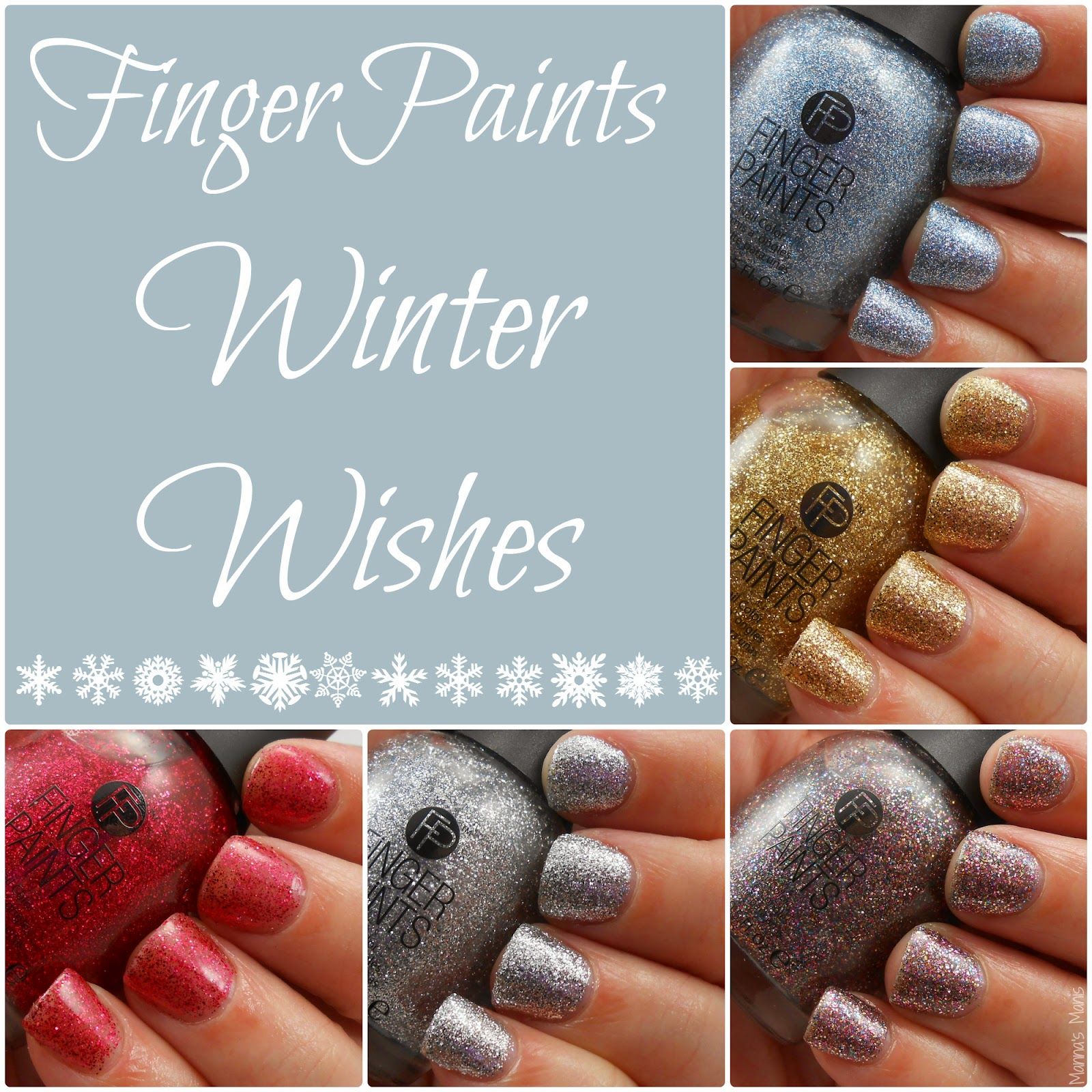 fingerpaints winter wishes collection