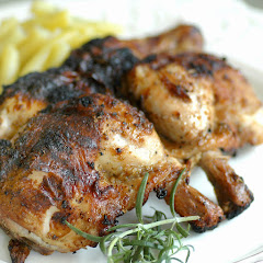 Tuscan Grilled Cornish Hens