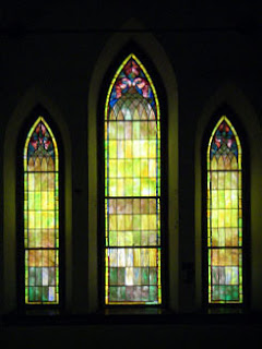 Stained glass at CAC