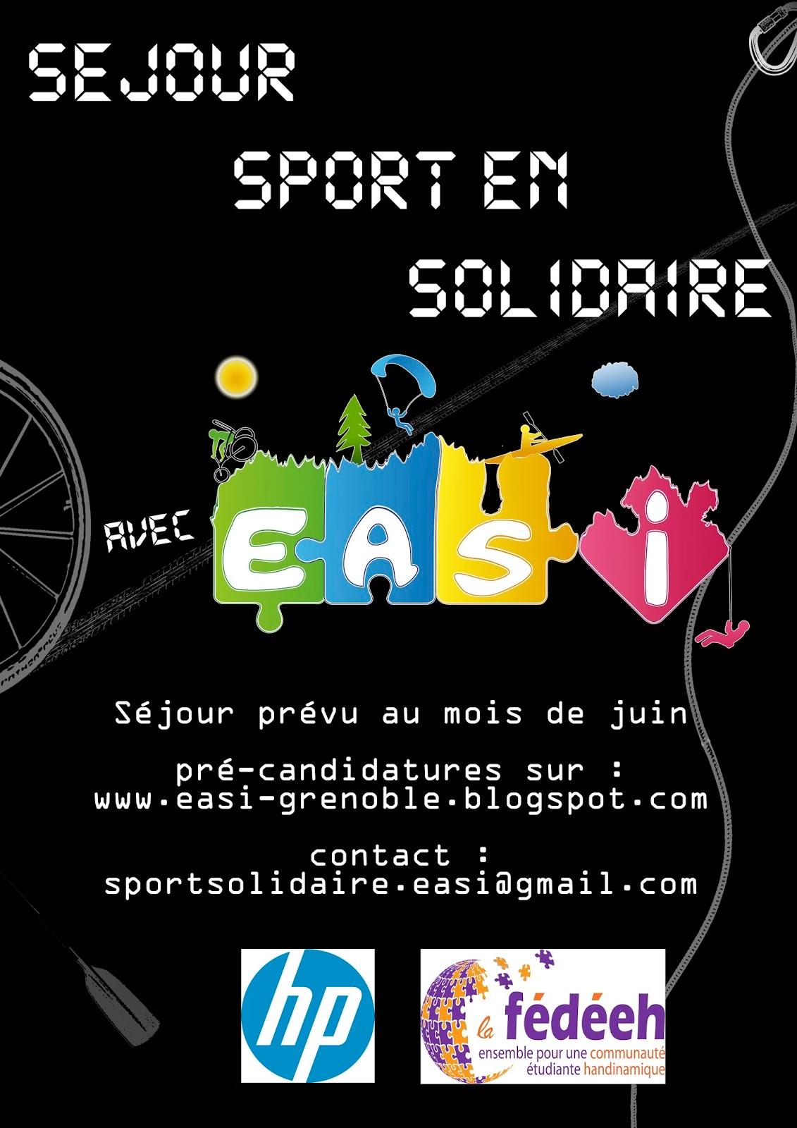EASI et son Séjour Sports en Solidaire
