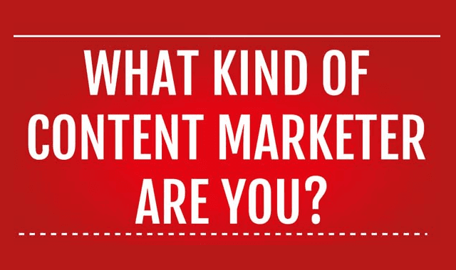 Image: What Kind of Content Marketer Are You?
