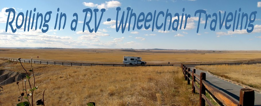 ........Rolling in a RV - Wheelchair Traveling......