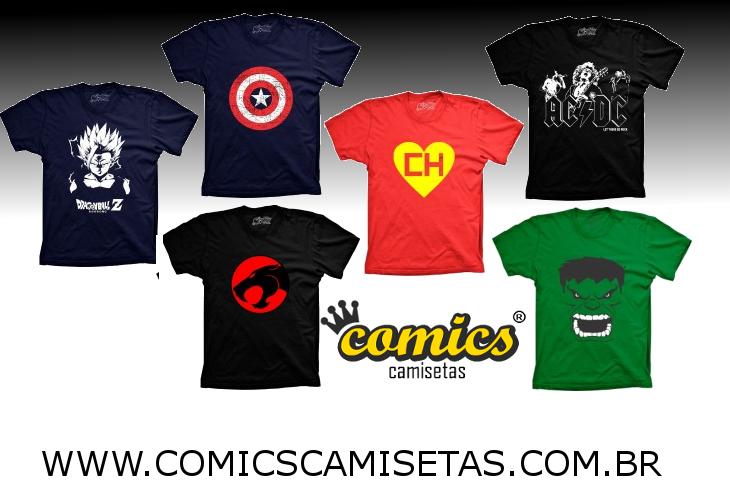 Comics Camisetas