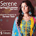 Sitara Serene Lawn 2014 Vol-1 Excursively Designed by Sarwat Yasir | Serene S/S Lawn Collection 2014-15