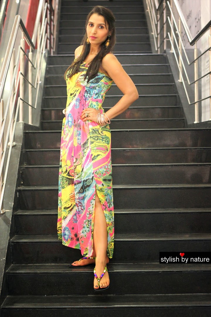 Reliance Trends: Maxi Dress from Spring Summer Collection ...