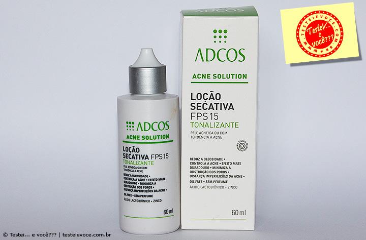 Loção Secativa Tonalizante (Acne Solution) - Adcos