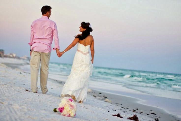Excelentes Vestidos de novia para playa