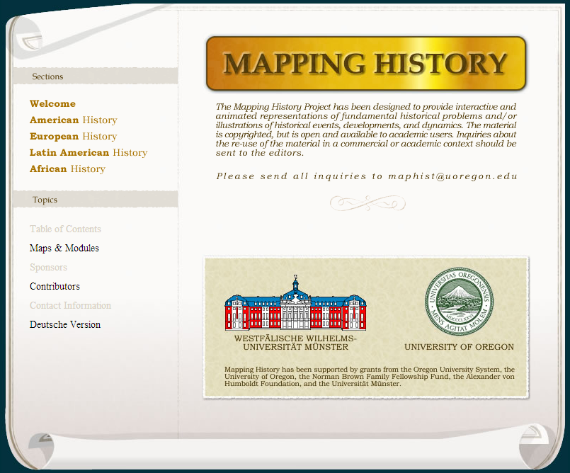 Learning Never Stops: Mapping History - Hundreds of Animated and interactive maps of historical events and eras