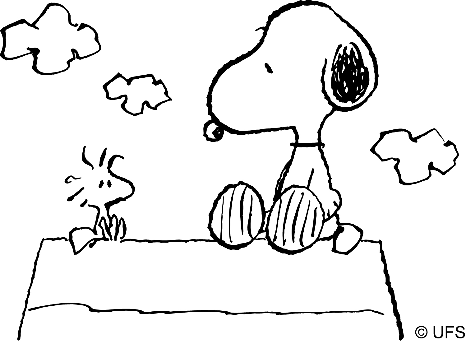 peanuts comics coloring pages - photo#9