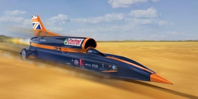 supersonik otomobil