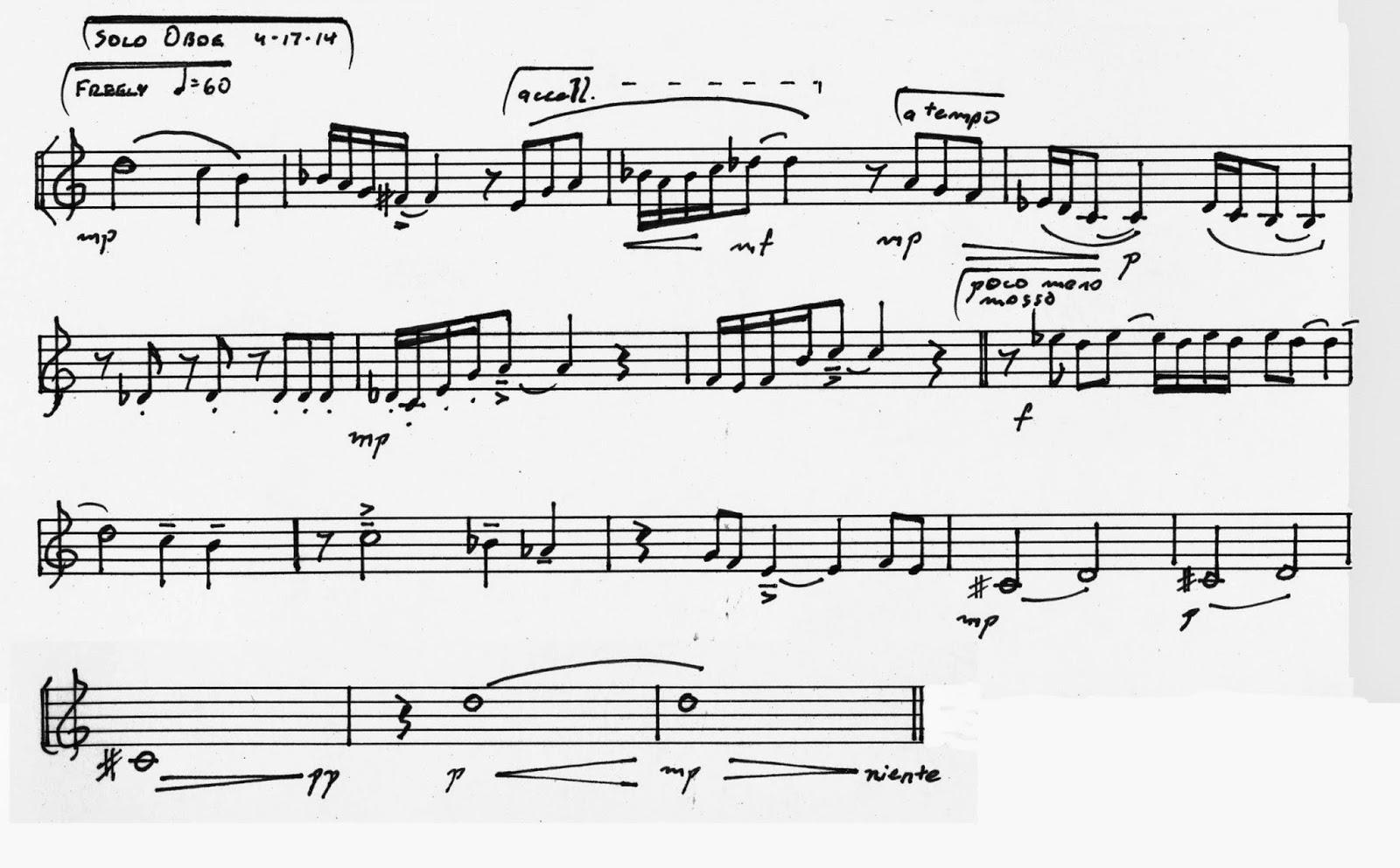 Finding Beauty In Ephemera Diabelli Project 074 Piece For Solo Oboe
