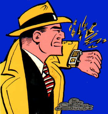 When was the dick tracy comic strips created