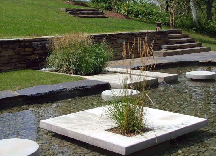 Berkshires xiii house modern home design decor ideas for Modern koi pond design photos