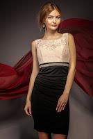 Rochie de ocazie Hennia Neagra