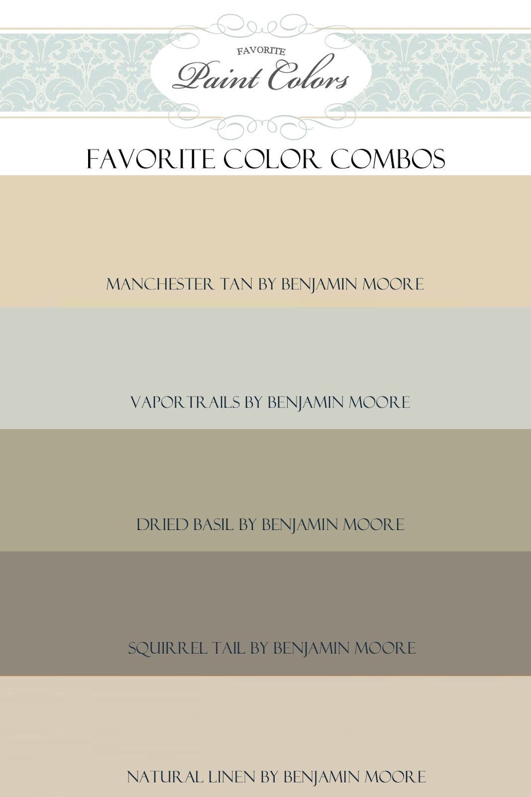 Favorite paint colors june 2012 for Neutral cream paint color