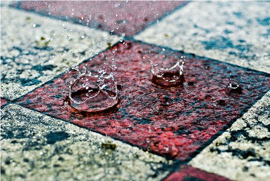 Amazing droplet