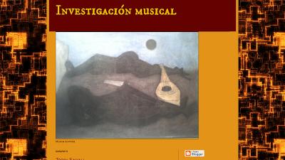 Investigación Musical en Directoriopax Blog dedicado a la investigación musical.