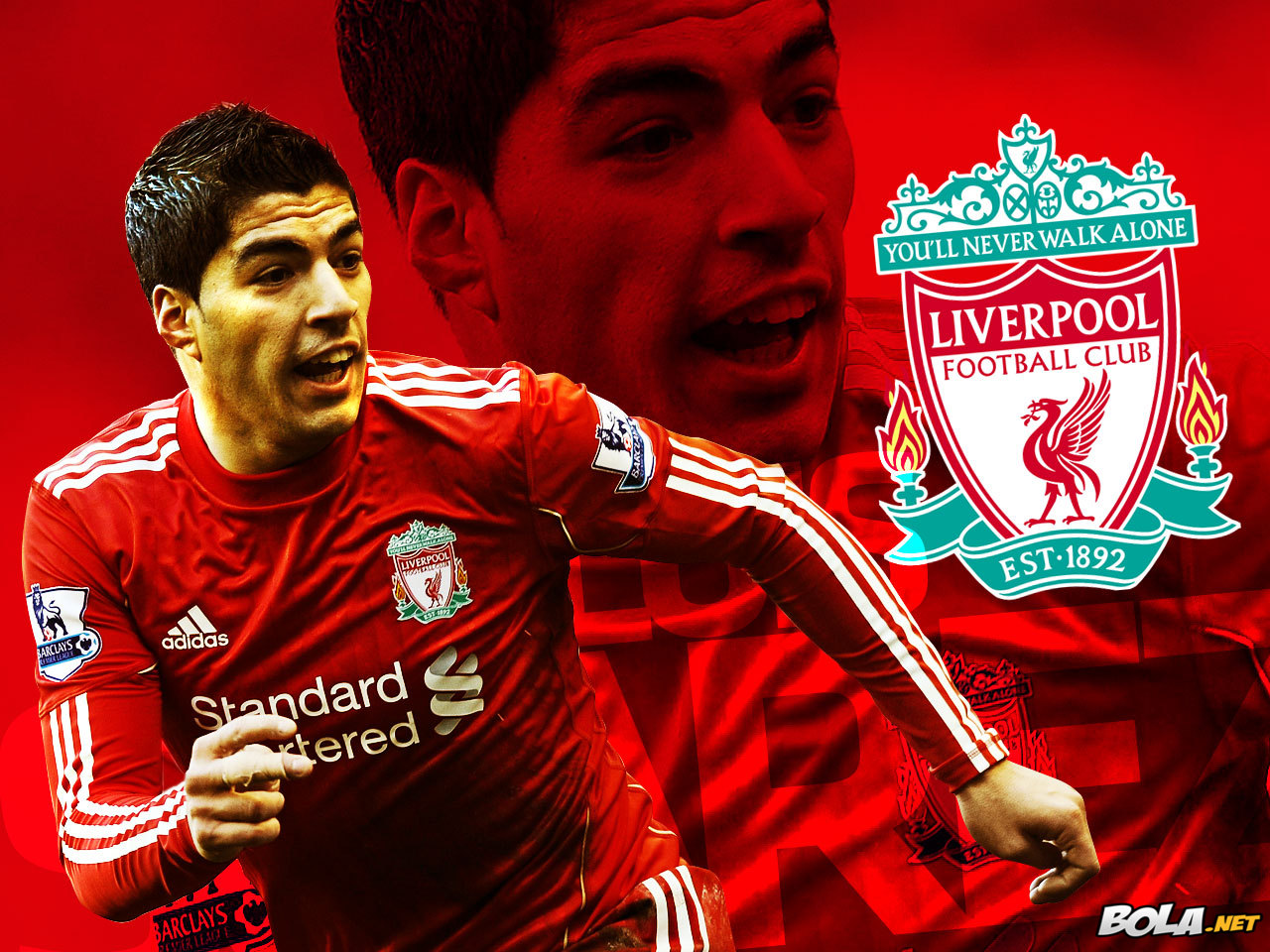 Luis alberto su rez d az liverpool soccer wallpapers - Suarez liverpool wallpaper ...