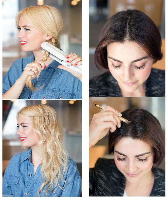 Самостоятельно сделать укладку волос