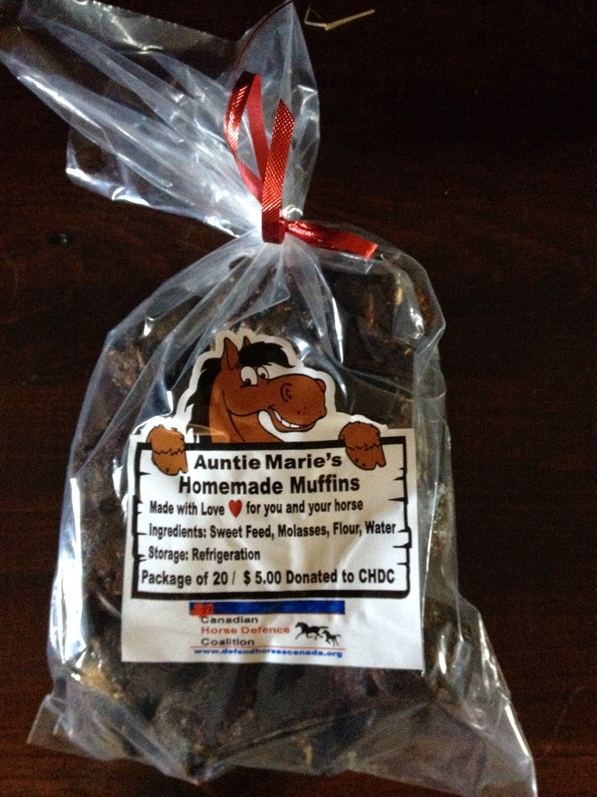 Auntie Marie's Homemade Muffin Bag