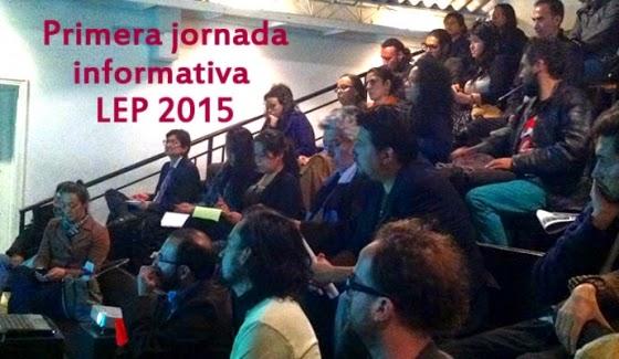 primera jornada informativa LEP 2015