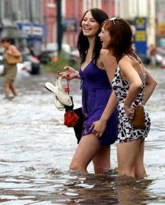 Kiev onder water