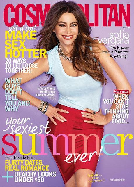 JUNE 2013 MAGAZINE COVERS