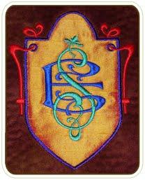 Art Nouveau 2-letter Monograms