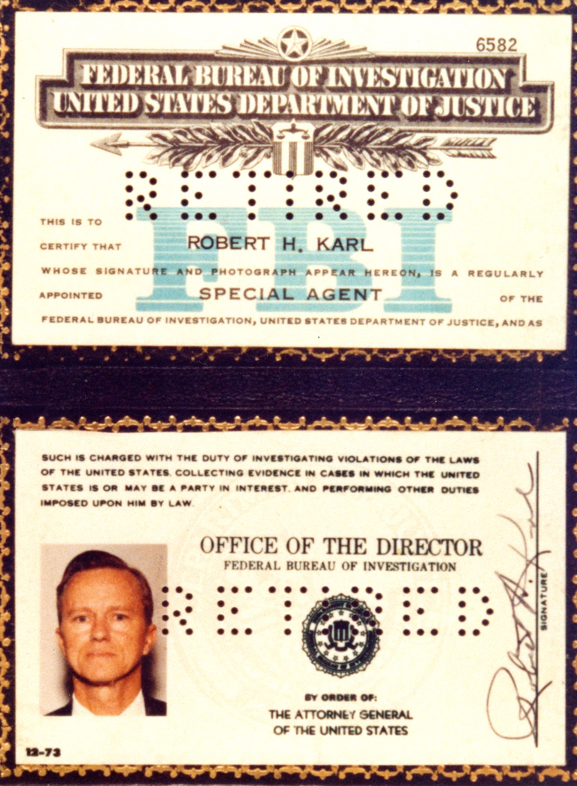 Daily Finds Fbi Badge Credentials Find