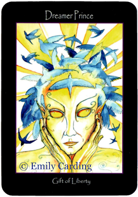 Tarot of the Sidhe, Dreamer Prince, Emily Carding