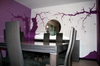 Oportunidades de trabajo empleo for Murales en paredes interiores