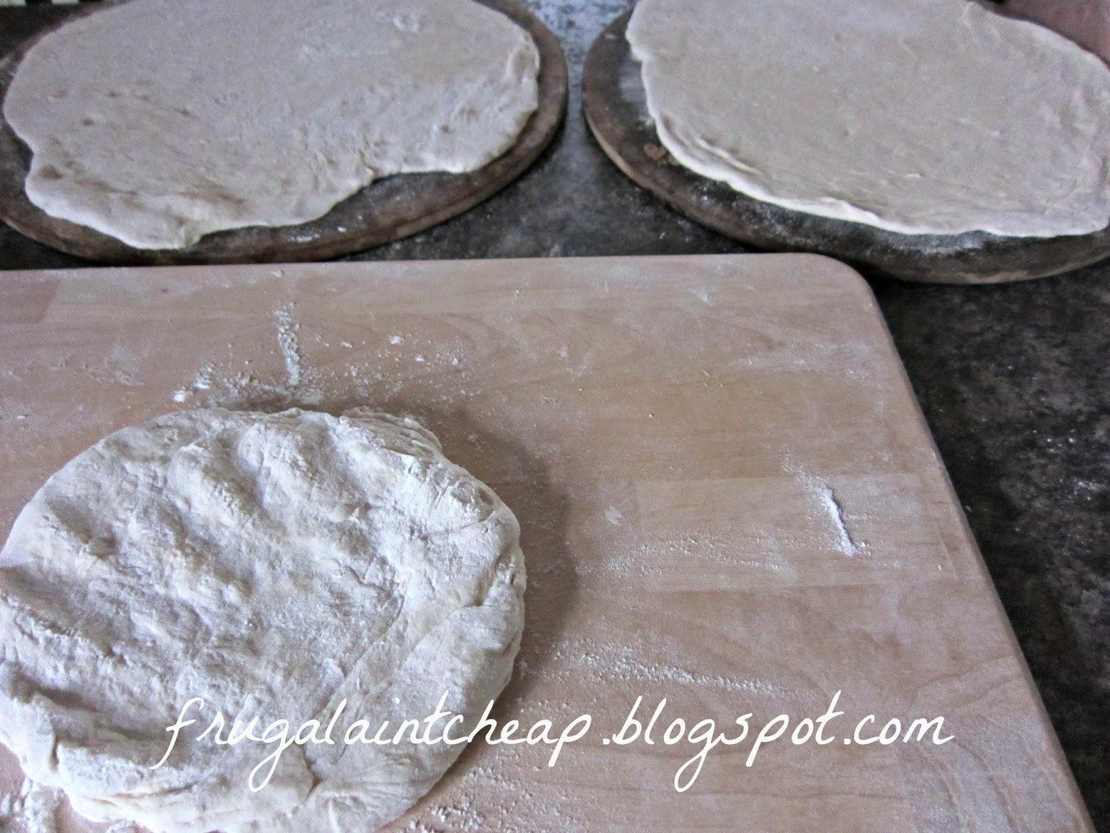 how to make pizza dough cost