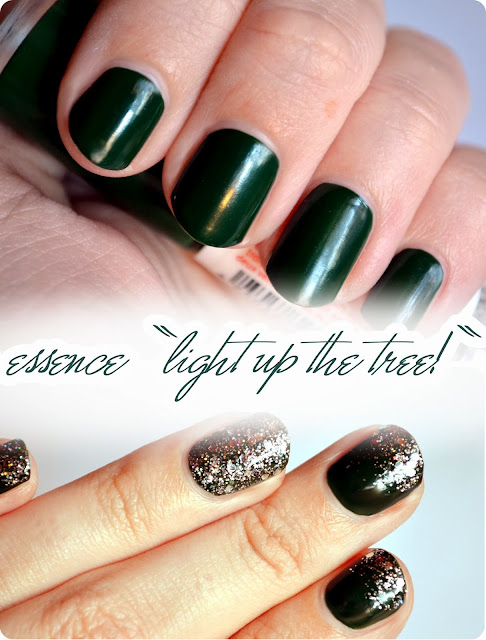 Review essence Happy Holidays LE - Colour³ Nailpolish LIGHT UP THE TREE