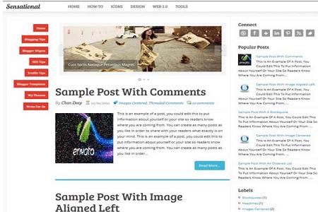 free seo optimized adsense ready template 2015