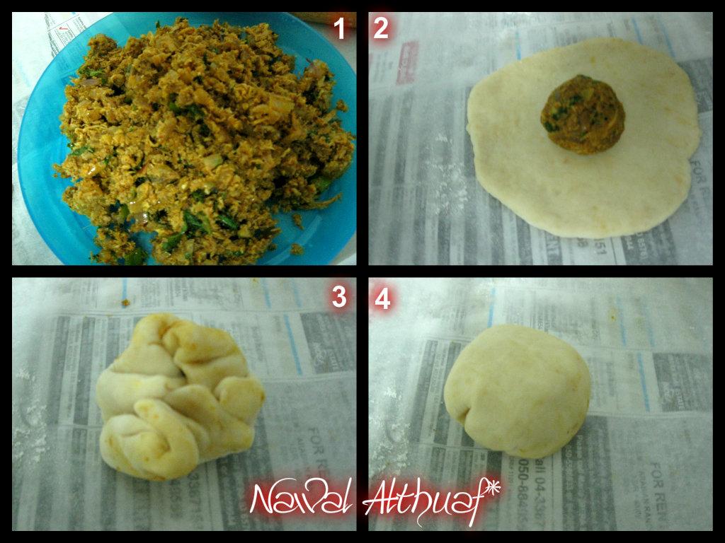 how to make plain dough balls