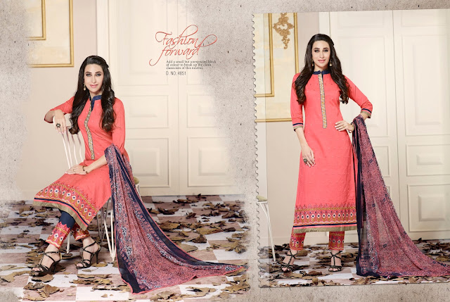 karishma vol – 2 – Cotton Straight Cut Dress Material Buy Online