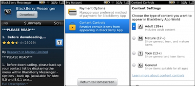 BlackBerry App World v3.1.0.58